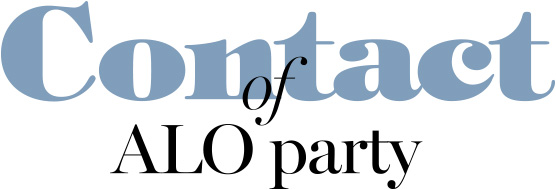 Contact of ALO party