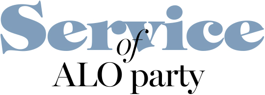 Service of ALO party